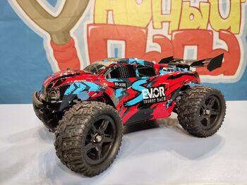 Радиоуправляемый трагги Remo Hobby S-EVOR Brushless 4WD 2.4G 1/16 RTR красный