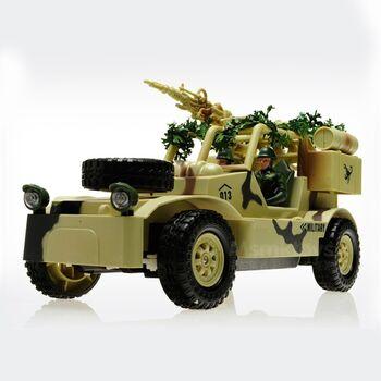 Радиоуправляемый военный джип Field Vehicle 8019B 1:20