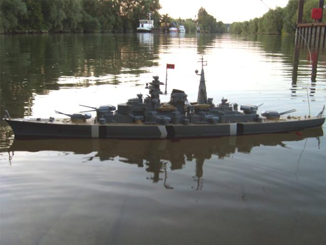 Радиоуправляемый линкор Бисмарк Speed Battle Ship HT 3827F