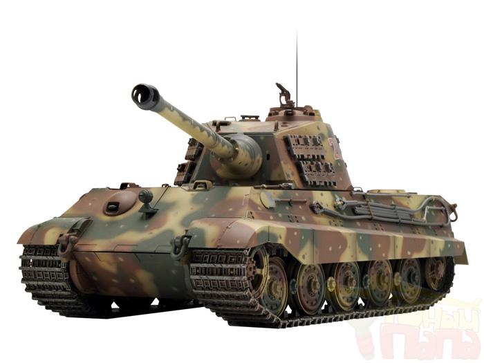 Радиоуправляемый танк Heng Long German King Tiger Standard Version 1:16