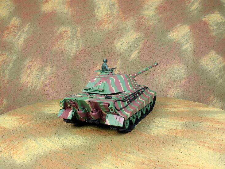 Радиоуправляемый танк Heng Long German King Tiger PRO Professional Version 1:16