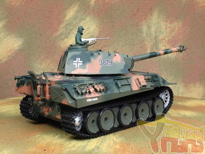 Радиоуправляемый танк Heng Long Panther Standard Version 1:16