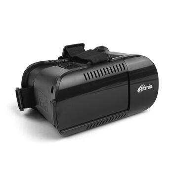 Очки виртуальной реальности RITMIX RVR-001 Black, для смарт 4,5-6 дюймов, регулируемые линзы