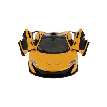 Радиоуправляемая машина Rastar 75110 McLaren P1 1:14, цвет жёлтый 27MHZ